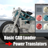 Crossgrade Power Translators from Basic CAD Loader (日本語簡易マニュアル付き)