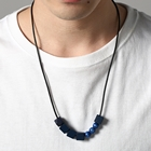 GREEK BEADS NECKLACE-A