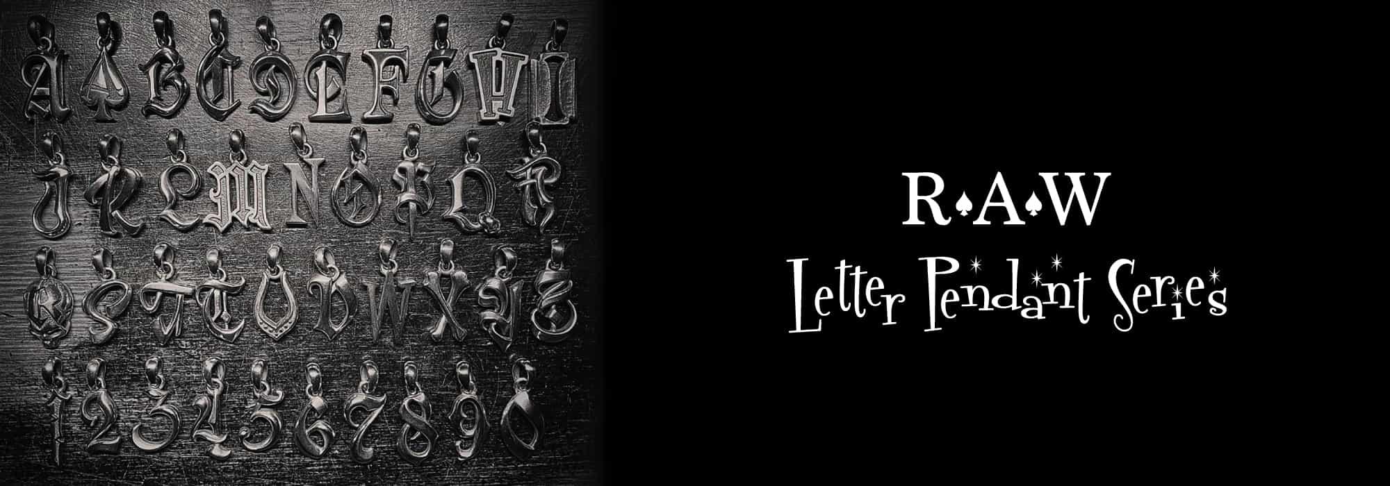Letter Pendant Series
